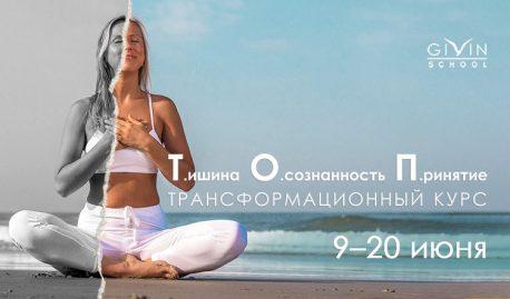 Трансформационный онлайн-курс «Т.ишина. О.сознанность. П.ринятие.»(Для начинающих)