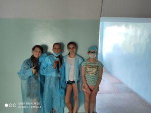 В детской больнице г. Херсона