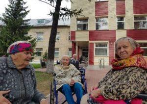 Старость в радость. Акция в доме ветеранов